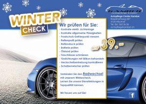 Winter Keramikversieglung Autopflege Autoreinigung Service Kamber